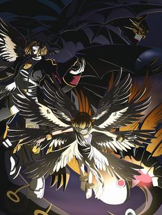 Was difficult to compose with all those wings! How many pair of wings Lucemon have? Lets count! Digimon Wallpaper, Ocarina Of Times, Black Panther Art, Digimon Frontier, Digimon Digital Monsters, Digimon Adventure Tri, Monster Design, Pokemon Fusion, Angels And Demons