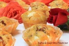 Brisa Maritima, muffins de tomate seco e queijo feta.