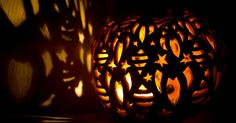 Pumpkin carving ideas from The Great Jack O'Lantern Blaze #gif #halloween