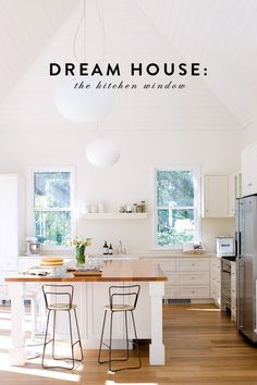dream house: the kitchen window.