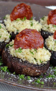 Parmesan, Baked Potato, Organize, Appetizers, Potatoes, Baking, School, Ethnic Recipes, Mushroom Pasta