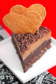 Raw Chocolate Chili Cheesecake - Vegetarian & Vegan Recipes