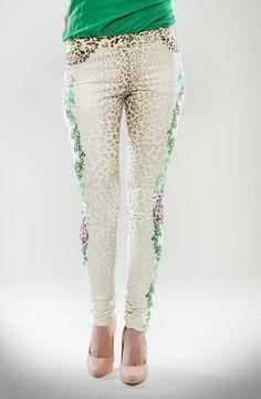 Pantalon imprimé Corail  Collection printemps-été 2013