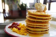 經典美式鬆餅大早餐