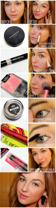 these items achieve a natural every day makeup look