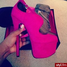 Love these but I doubt I could walk in them