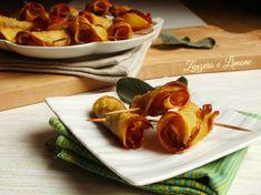 saltimbocca di patate al forno