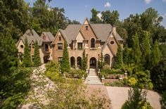 Location:895 W Paces Ferry Road NW,Atlanta, GA Square Footage: 14,188 Bedrooms & Bathrooms: 7 bedrooms & 11 bathrooms Price: $7,900,000 This French inspired brick & stone mansion is loca