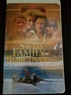 WALT DISNEY VAULT COLLECTION: SWISS FAMILY ROBINSON VHS TAPE