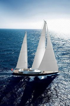 beauty under sail