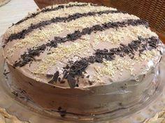 Τούρτα πραλίνα Greek Sweets, Greek Desserts, Party Desserts, Greek Recipes, No Bake Desserts, How To Make Cake, Food To Make, Cake Recipes, Dessert Recipes