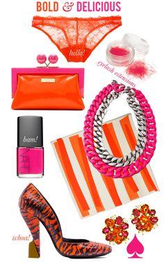 Bold & Delicious and Orange and Pinklishous