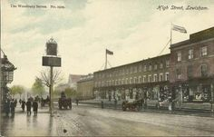 Lewisham High Street. The old Chiesmans Store can be seen on the right, opposite is the long gone Salisbury Pub.