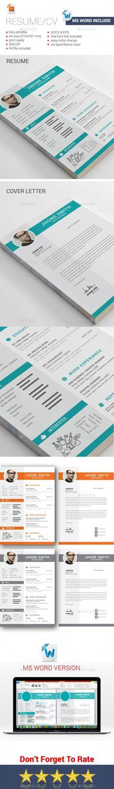 Resume — PSD Template #resume booklet #resume • Download ➝ https ...