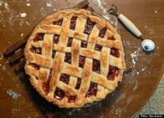 Former newspaper publisher Phil Power talks about the sour cherry harvest in northern Michigan and provides his family's recipe for cherry pie. Old Fashioned Cherries, Sour Cherry Pie, Toaster Oven Recipes, Humble Pie, Paleo, Holiday Pies, Best Pie, No Bake Pies, Sugar