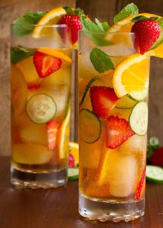 Pimms Cup is a British made Gin liqueur, that you mix with fruit,cucumber and ginger ale/ Sprite ( lemonade) for a delightfully refreshing summertime beverage Pimms Cup Servings: 1 Ingredients. Fruit Drinks, Alcoholic Drinks, Beverages, Refreshing Cocktails, Classic Cocktails, Pimms And Lemonade, Cellulite Cream, Oranges And Lemons, Jack Daniels Wallpaper