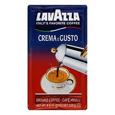 LavAzza Coffee  Crema E Gusto  Dark Roast  Ground  88 oz  Case of 3 ** You can get additional details at the image link.