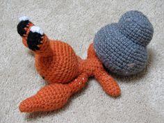 pokemon crochet dwebble amigurumi