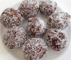 Bliss Balls (try these)  2 handfuls dried organic apricots,  2 handfuls fresh Medjool dates, pitted 1 handful cacao nibs 1 handful nuts (I used walnuts) 1 handful organic dried fruit (I used white mulberries) 1 tbsp cacao powder 1 tbsp sweetener (I used coconut nectar) 1 tbsp Superfoods for Kidz Berry Choc Chunk 1 tbsp linseeds 1 tsp vanilla essence Pinch of sea salt