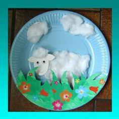 """Résultat de recherche d'images pour """"bricolage mouton maternelle"""""""
