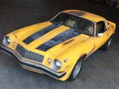 Image Result For Bumblebee 1976 Camaro Papercraft Bumblebee 1976