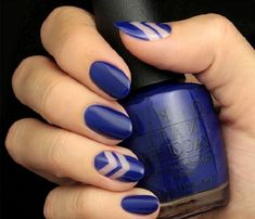 Cool Nail Art Designs For 2019 - style you 7 Gradient Nail Design, Gradient Nails, Blue Nails, Water Marbling, Blue Nail Designs, Cool Nail Art, Summer Nails, Pretty Nails, You Nailed It