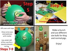 How to make lifesize version of Angry Birds for cheap