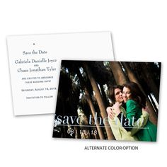 Captured Moment  Save the Date Postcard