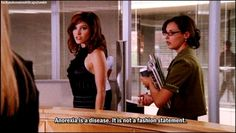 Brooke Davis anorexia is a disease