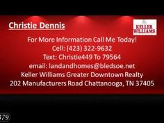 3 bedroom house for sale in Bledsoe County TN 37379 http://ift.tt/20Qsxqg  Christie Dennis - Keller Williams Greater Downtown Realty : 202 Manufacturers Road Chattanooga TN 37405 - (423) 322-9632  3 bedroom house for sale in Bledsoe County TN 37379 http://ift.tt/NWjlQH Location Location Location! Close to Chattanooga/Hixson but a world away. Just nine (9) miles from all of the shopping you need (Walmart Tractor supply Eateries...etc) and only 14 miles to Hixson (movies restaurants big…
