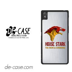 House Stark For Sony Xperia Z3 Case Phone Case Gift Present YO