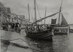 "MALTA old days boats "" daghjsa tal latini"