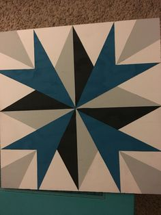 My first barn quilt!