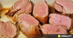 Sertésszűzpecsenye egyszerűen recept képpel. Hozzávalók és az elkészítés részletes leírása. A sertésszűzpecsenye egyszerűen elkészítési ideje: 20 perc Hungarian Recipes, Latin Food, Canapes, Meatloaf, Meat Recipes, Tapas, Steak, Bacon, Food Porn