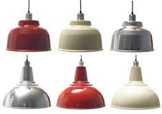 enamel industrial light shades
