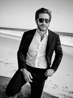 Jake Gyllenhaal by Eric Ray Davidson for Esquire UK