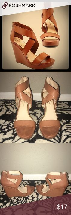 Jessica Simpson Wedges Jessica Simpson 5 inch wedges Jessica Simpson Shoes Wedges