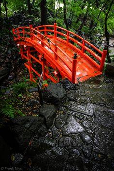 Tokyo Koishikawa Kōrakuen Garden - Tsutenkyo bridge