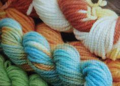 Dyeing Wool Yarn with Kool-Aid!