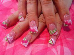 stripes, dots, and 3-d bows by Oli123 - Nail Art Gallery nailartgallery.nailsmag.com by Nails Magazine www.nailsmag.com #nailart