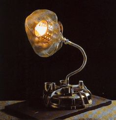 "Upcycled lamp ""Flover"" 1996"
