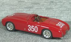 Ferrari 166 MM Spyder Vignale - Mille Miglia 1951 #350 - Cacciari - Simon - Alfa Model 43