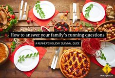 'Tis the season for awkward questions at the holiday dinner table. We've all been there so this year instead of chugging back the egg nog, take a deep breath and use our holiday survival guide. Holiday Dinner, Holiday Tables, Winter Running, Egg Nog, Deep Breath, Survival Guide, Dinner Table, Tis The Season, Stay Fit