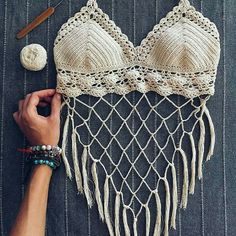Pdf file for crochet pattern coralia crochet crop top and brazilian bottom sizes xs l bikini top crochet bikini pattern – Artofit Crochet Bra, Crochet Bikini Pattern, Crochet Halter Tops, Crochet Bikini Top, Crochet Clothes, Crochet Patterns, Knitted Swimsuit, Crochet Bathing Suits, Diy Vetement