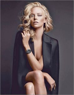Charlize Theron for Dior VIII Watches (HQ Pic and Video)