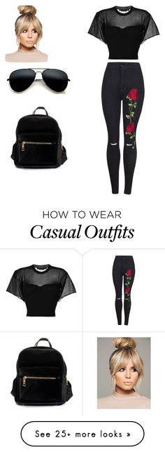 """casual and cute"" by shiannemariecarpenter on Polyvore featuring Alexander Wang"