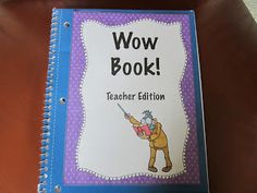 """Use a """"Wow Book"""" to create a positive classroom community, while building reading and writing skills! Blog post explains how to do it, plus a freebie!"""