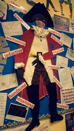 The Highwayman Key Stage 2 Literacy Display. Bringing the Highwayman alive in the classroom. Loads of great activities ensued.