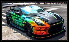 Nissan GT-R Rainbow