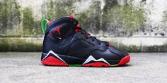 Marvin The Martian Jordan 7 for Kids. Kids Sneakers, Jordans Sneakers, Air Jordans, Marvin The Martian, Jordan 7, Footwear, Shoes, Fashion, Moda